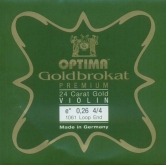Goldbrokat Premium Gold Violin String - E 26 - 4/4 - Loop