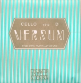 Versum Cello D String - medium - 4/4
