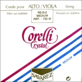 Corelli Crystal Viola D String - medium