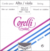 Corelli Crystal Viola G String - medium