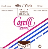 Corelli Crystal Viola C String - medium