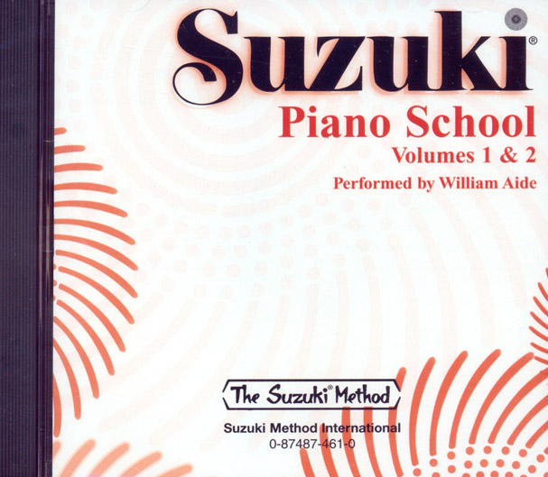 Suzuki Piano School - CD Volume 1-2 - Aide