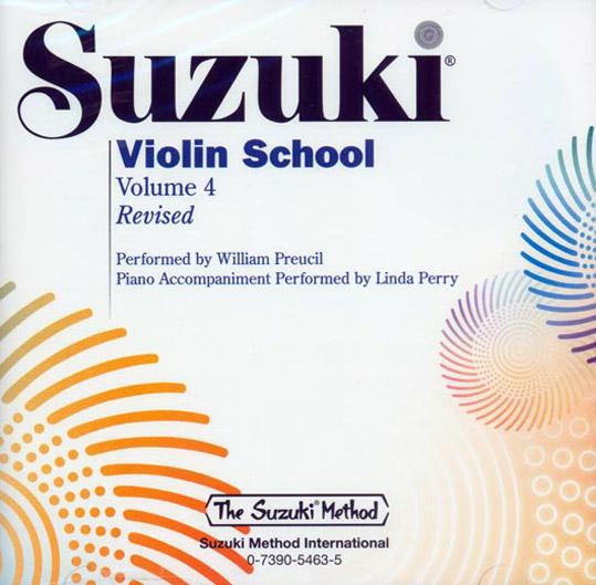 SUZUKI VIOLIN SCHOOL Vol 4 Violin part REVISED