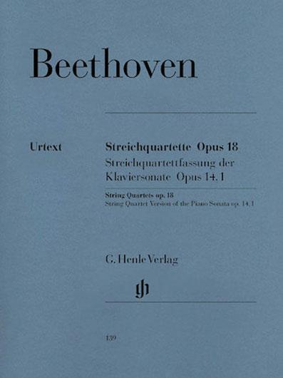 Beethoven - String Quartets, Op  18