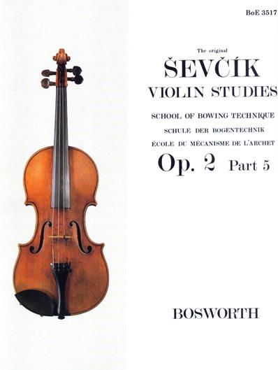 Sevcik Violin Studies Opus 2 Part 2