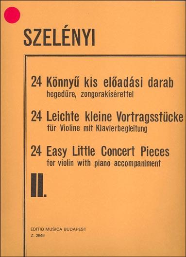 24 Easy Little Concert Pieces Vol  2