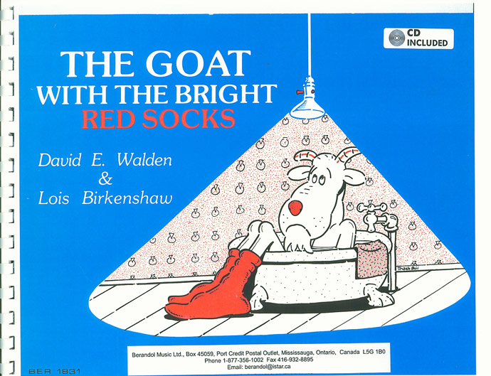 Goat with The Bright Red Socks Book and CD