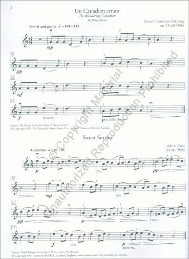 Violin Series - Violin Level 1 Repertoire (Book and CD)